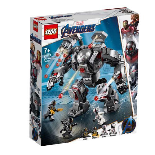 LEGO® Marvel Avengers 76124 L'armure de War Machine