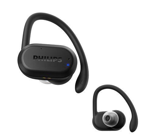 Ecouteurs sans fil Sport Bluetooth Philips TAA7306BK/00 True Wireless Noir