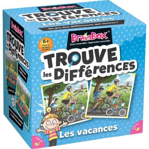 Jeu de mémoire Asmodée BrainBox Le jeu des différences en vacances