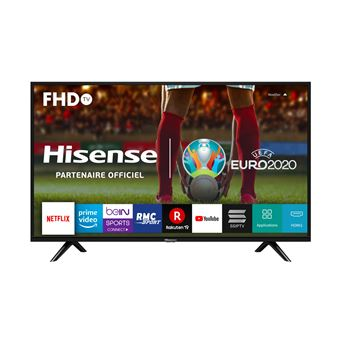 "Hisense H40B5600 - 40"" Klasse LED-tv - Smart TV - VIDAA - 1080p (Full HD) 1920 x 1080 - D-LED Backlight - zwart"