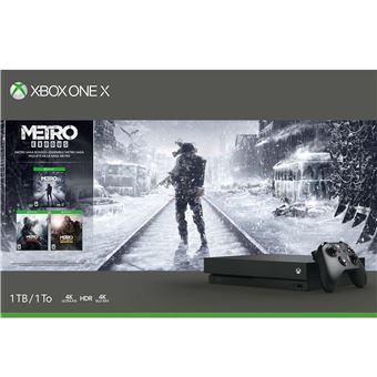 MS XBOX ONE X 1 TO METRO EXODUS SAGA