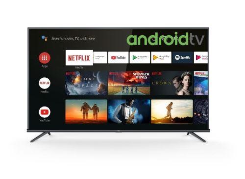 """TV TCL 65EP660 4K UHD Ultra Slim HDR HDR Android Smart TV 65"""""""""""""""" Noir - Téléviseur LCD 56"""" et plus ."""