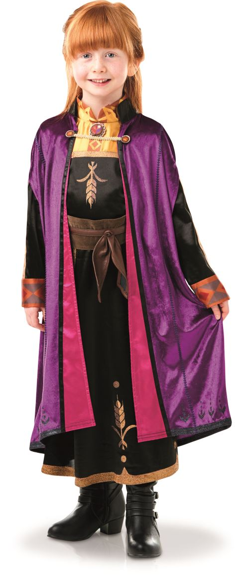 Costume luxe Disney La Reine des neiges Anna Taille S
