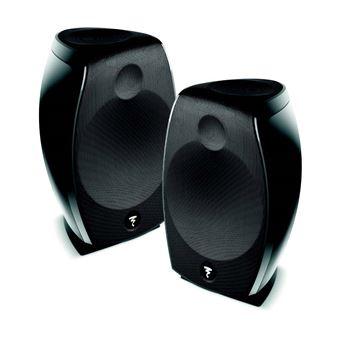 Pack d'enceintes compactes Focal Sib Evo Dolby Atmos 2.0 Noir