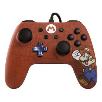 Manette filaire Nintendo Switch Iconic Super Mario