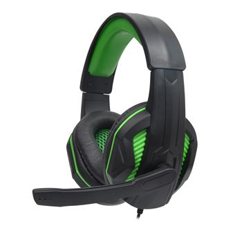 Micro-casque Gaming Alpha Omega Players Rapace C19 Vert