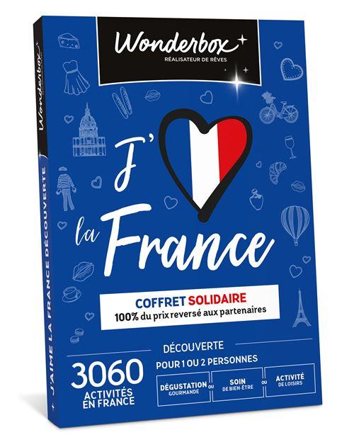 Coffret cadeau Wonderbox J'aime La France Découverte...