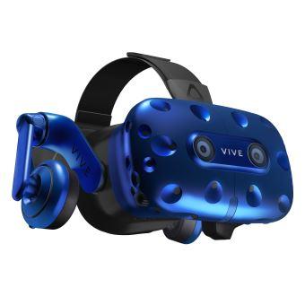 Casque de réalité virtuelle HTC Vive Pro Bleu et noir