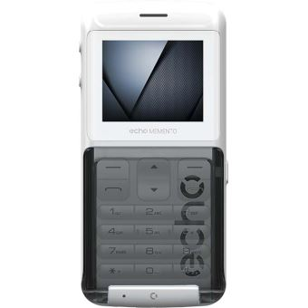 Mobiel Flip Telefoon Echo Memento Dual Sim Wit