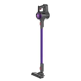 Aspirateur balais sans fil et sans sac Proline HandyP 120 W Gris et Violet