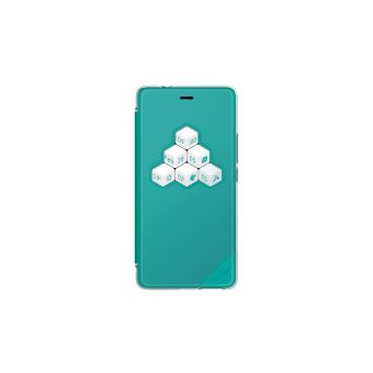 Coque Wiko Smart Folio Wicube Bleen Pour Tommy 2 Plus