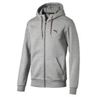 Sweat à capuche zippé Puma Style Fleece Gris Taille XXL