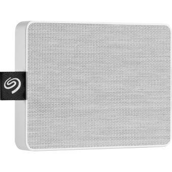 Disque SSD Externe Seagate One Touch 500 Go Blanc