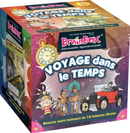 Jeu de mémoire Asmodée BrainBox Voyage dans le temps