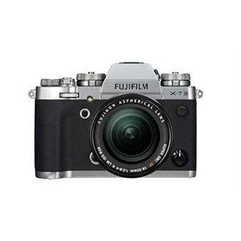 Fuji X-T3 Hybride Camera Silver + Lens XF18-55MM