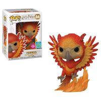 Figurine Funko POP Harry Potter Fawkes (Flocked) Exclusivité Fnac