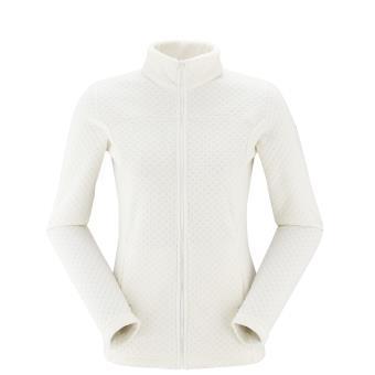 Veste randonnée Femme Lafuma Track Fleece Blanche Taille M