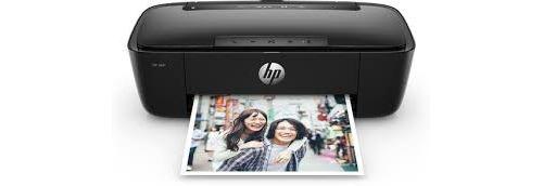 Imprimante Enceinte HP AMP 130 Wifi noire jusquà 15 pagesmois gratuites en sinscrivant à Instant Ink