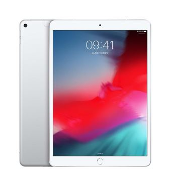 "Nieuwe Apple iPad Air 256 GB WiFi + 4G Zilver 10.5"""