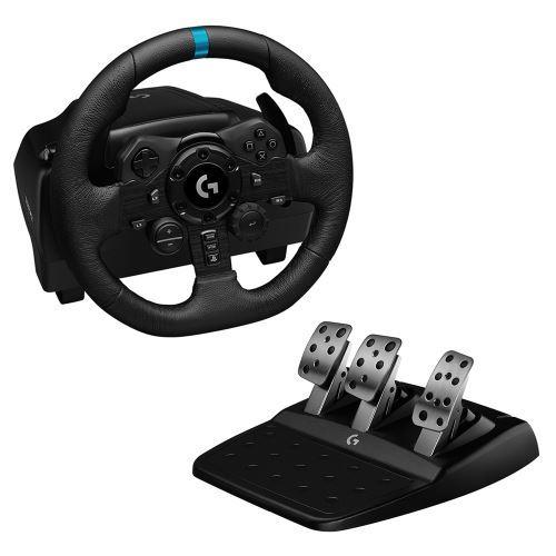Pack Volant et Pédales Logitech G923 Trueforce pour PS4