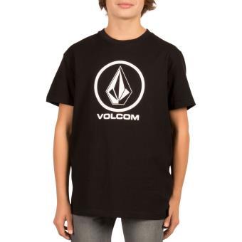 02136795c969c T-shirt Enfant Volcom Circle Stone Noir Taille L - Haut
