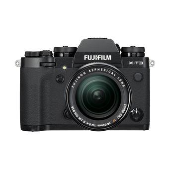 Fujifilm X-T3 Hybride Camera Zwart + Lens XF 18-55mm