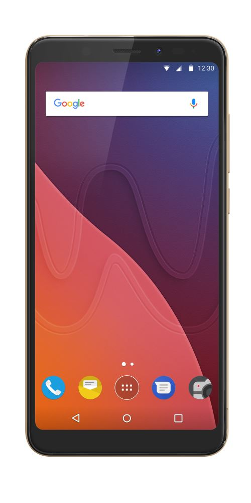 Smartphone Wiko View Double SIM 32 Go Or