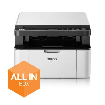 Brother DCP-1610WVB - Multifunctionele printer - Z/W - laser - 215.9 x 300 mm (origineel) - A4/Legal (doorsnede) - maximaal 20 ppm LED - maximaal 20 ppm (printend) - 150 vellen - USB 2.0, Wi-Fi(n)