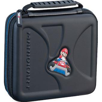 Pochette de transport rigide BigBen Mario Kart pour Nintendo 2DS et 3DS Noir