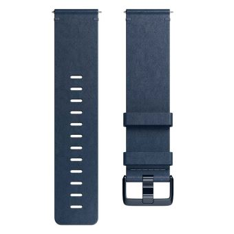 FITBIT ACC BAND LEATHER MIDNIGHT BLUE L
