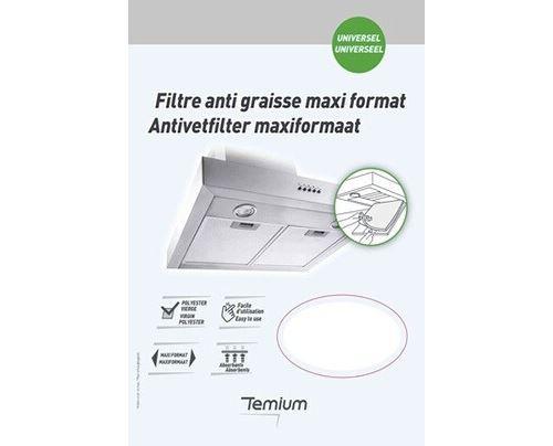 Filtre anti graisse Temium Maxi format