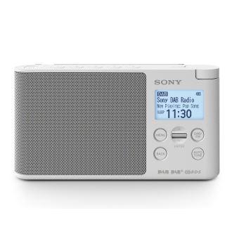 TOPradio - Sony XDRS41 White DAB+