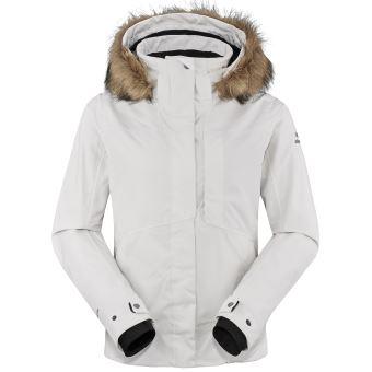 Veste de ski blanche femme