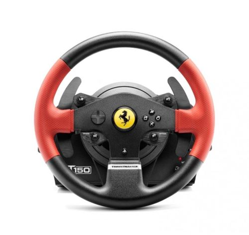 Volant Thrustmaster Force Feedback T150 Edition Ferrari pour PS4 et PS3