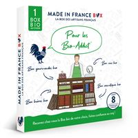 Coffret cadeau Made In France Box Pour les Bio Addicts !