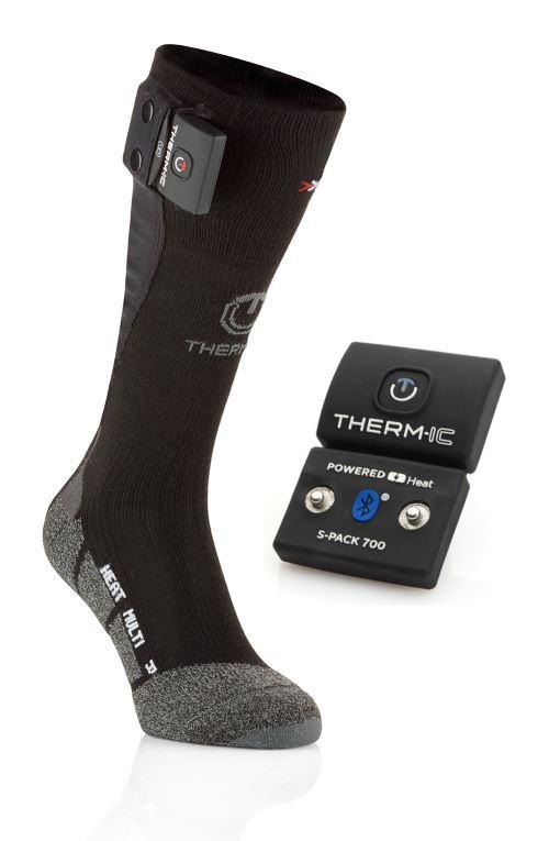 Thermic Power Socks Set Uni Spack 1200 Chaussette chauffante Ski Mixte