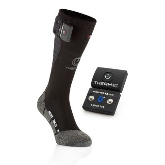Therm-ic Chaussettes Chauffantes Uni Batteries S Pack 1400 Bluetooth Mixte