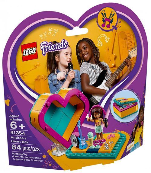 LEGO® Friends 41354 La boîte cœur d'Andréa