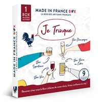 Coffret cadeau Made In France Box Je Trinque !