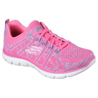 Chaussures Skechers roses Sportives fille SSOH6suG