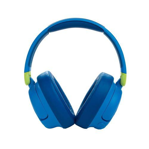 Casque circum-auriculaire sans fil Bluetooth à réduction de bruit pour enfant JBL JR 460NC Bleu