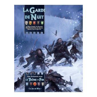 Extension de jeu de rôle Asmodée Le Trône de Fer La Garde de Nuit