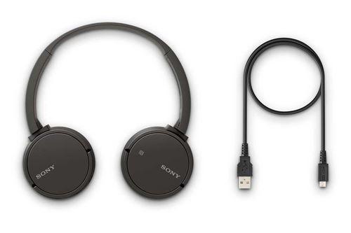 Sony WH CH500 Casque Sans Fil Bluetooth Compact avec Prise d