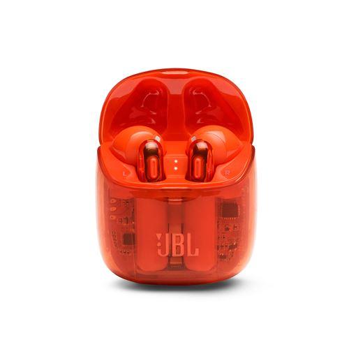 Ecouteurs intra-auriculaires sans fil True wireless JBL Tune 225 Noir Orange