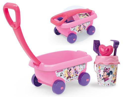 Chariot de plage garni Smoby Disney Minnie