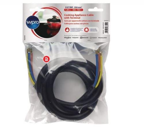 Câble Wpro CAB360/1 32 ampères pour plaque de cuisson