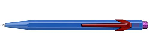 Stylo à bille Caran d'Ache 849 Claim your Style Bleu cobalt