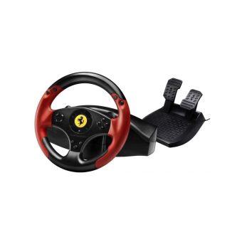 Thrustmaster Ferrari Red Legend Edition - ensemble volant et pédales - filaire