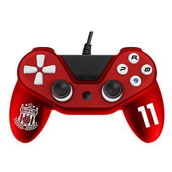 Manette PS4 filaire Subsonic Pro 5 Sport Rouge