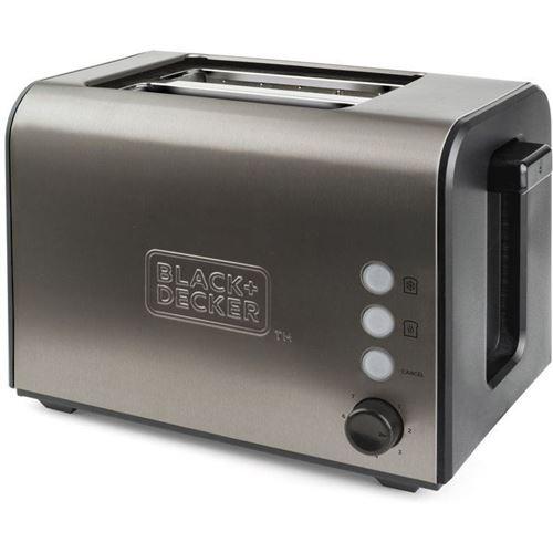Grille-pain Black+Decker BXTO900E 900 W Gris